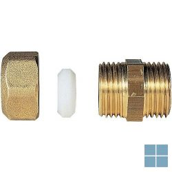 Bicone mazout recht 3/8 x 12mm | BMAZOUT1238 | LAMO