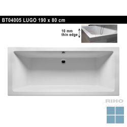 Riho lugo inbouwbad duo 190x80 cm wit | BT04 | LAMO