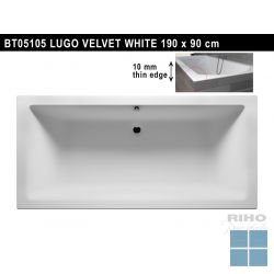 Riho lugo inbouwbad duo 190x90 cm wit | BT05 | LAMO