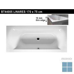 Riho linares inbouwbad duo 170x75 cm wit | BT44005 | LAMO