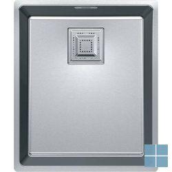 Franke centinox onderbouw-glad 370x340 mm inox | CMX1103401 | LAMO