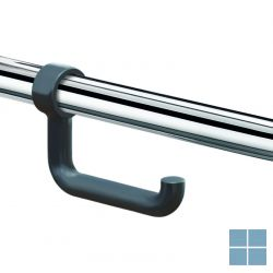 Delabie toiletpapierhouder voor greep antraciet grijs nylon | DEL510081 | LAMO