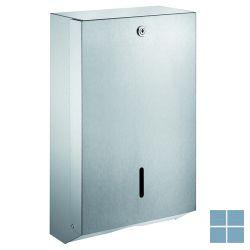 Delabie handdoekverdeler wand 130x275x450mm mat gepolijst   DEL6607D   LAMO
