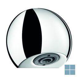 Delabie round douchekop ingebouwde toevoer chroom | DEL709000 | LAMO