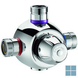 Delabie premix confort 55 thermostaat mengautomaat 6 kranen chroom | DEL731002 | LAMO
