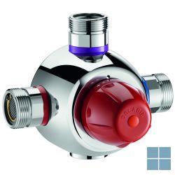 Delabie premix securit thermostaat mengautomaat 40 kranen chroom   DEL731055   LAMO