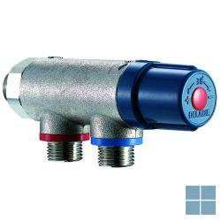 Delabie premix compact thermostaat mengautomaat 2-7 kranen blauw/chroom   DEL733015   LAMO