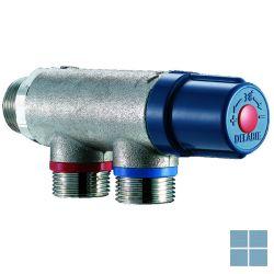 Delabie premix compact thermostaat mengautomaat 2-10 kranen blauw/chroom | DEL733020 | LAMO