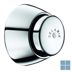 Delabie tempochasse toiletspoeling zelfsluitend inbouw chroom | DEL760700 | LAMO