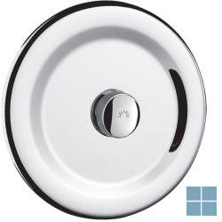 Delabie tempoflux 1 toiletspoeling zelfsluitend inbouw rond chroom   DEL761900   LAMO
