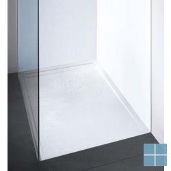 Dzignstone doucheplaat solid surface 80x90cm pg 1 | DP.GS.080090.1 | LAMO