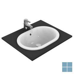 Is connect inbouw ovaal 55x38 cm wit keramiek | E504701 | LAMO