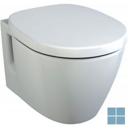 Is connect space verkort hangtoilet 48x36 cm wit | E801801 | LAMO