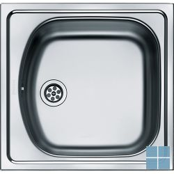 Franke eurostar inbouw-glad-omkeerbaar 455x435 mm inox | ETX6101 | LAMO