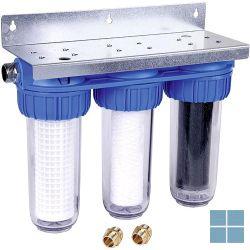 Honeywell triplex filter zeef+fijn+koolstof | FF60AX | LAMO