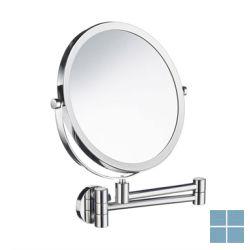 Smedbo outline lite cosm. spiegel wand x7 draaibaar rond chroom | FK445 | LAMO