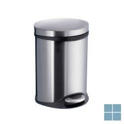 Smedbo outline lite pedaal vuilnisemmer geborsteld edelstaal (os) | FK663 | LAMO
