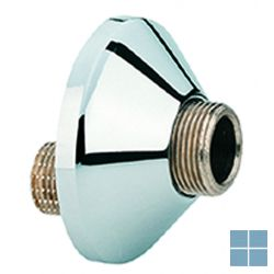 Grohe afgedekte s-koppeling ® x ¾ chroom | G12001000 | LAMO
