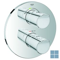 Grohe grohtherm 2000 inbouwthermostaat 2 systemen chroom (os) | G19355001 | LAMO