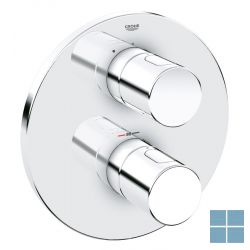 Grohe grohtherm 3000 cosmo. inbouwthermostaat rond 1 systeem chroom | G19467000 | LAMO