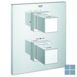 Grohe grohtherm cube inbouwthermostaat 1 systeem chroom (os) | G19959000 | LAMO