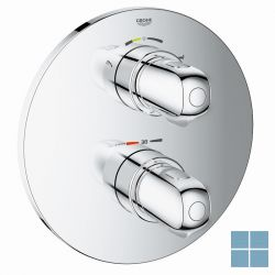 Grohe grohtherm 1000 inbouwthermostaat 2 systemen bad/douche chroom | G19986000 | LAMO