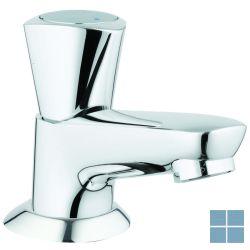 "Grohe costa s toiletkraan, metalen greep, blauw mar., chrm, keram. binnen., 1/2""   G20405001   LAMO"