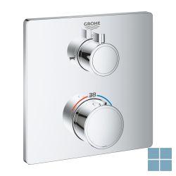 Grohe grohtherm thermostatisch greepelement voor bad 2 aansluitingn   G24080000   LAMO