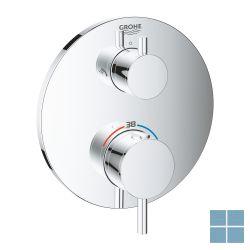 Grohe atrio thermostatisch greepelement voor douche 2 aansluitingen   G24135003   LAMO