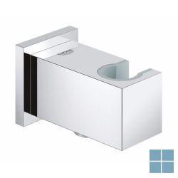 Grohe euphoria cube wandaansluitbocht en houder chroom (os) | G26370000 | LAMO