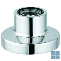 Grohe handdouchehouder voor bad- of tegelrand ronde rozet chroom | G27151000 | LAMO