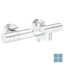 Grohe grohtherm 800 cosmo m badthermostaat chroom | G34766000 | LAMO