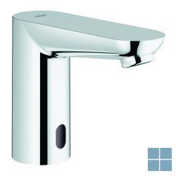 Grohe euroeco cosmo e wastafelkraan infrarood met transfo chroom | G36269000 | LAMO