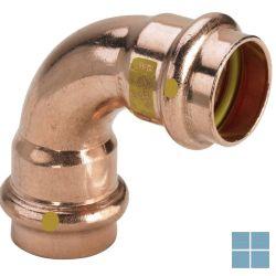Viega profipress gas koper bocht 90° ff dia 22 | GB9FF22 | LAMO