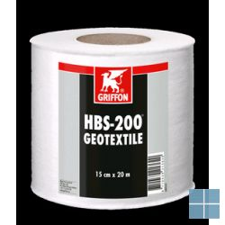 Bison/griffon geotextile 15 cm rol 20 m nettoprijs! | GEOTEXTILE | LAMO