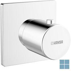 Hansa inbouwstopkraan vierkante rozet chroom | HA02289172 | LAMO