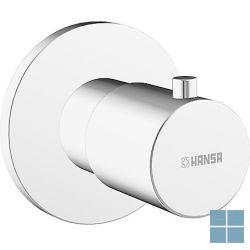 Hansa inbouwstopkraan ronde rozet chroom | HA06289105 | LAMO