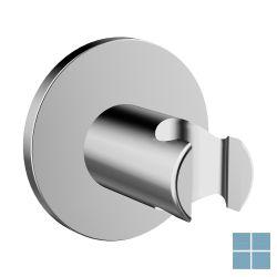 Hansadesigno handdouchehouder rond chroom | HA44440173 | LAMO