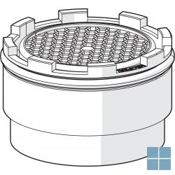 Hansa mousseur, m18.5×1, tj, pca perl. vr drukonafhankelijke doorstroom, 5,7l/min | HA59913366 | LAMO