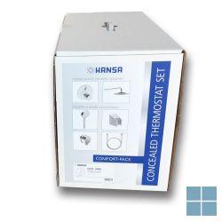 Hansabluebox douche pack rond compleet chroom | HA89940000 | LAMO