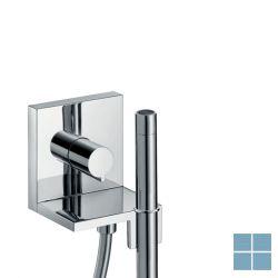 Hg axor handdouchemodule 12x12cm vierkant chroom | HG10651000 | LAMO