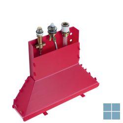 Hg inbouw 3-gats badmengkraan badrand secubox | HG13437180 | LAMO