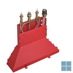 Hg inbouw 4-gats badmengkraan badrand secubox | HG13444180 | LAMO