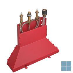 Hg axor inbouw 4-gats badmengkraan badrand secubox | HG15480180 | LAMO