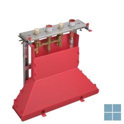 Hg axor inbouw 4-gats badmengkraan tegelrand secubox | HG15481180 | LAMO