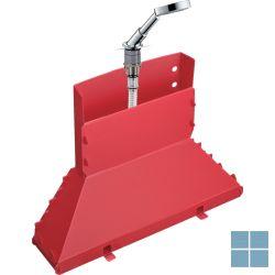 Hg axor secuflex set met handdouche ø 120mm 3jet op badrand, chroom | HG19418000 | LAMO