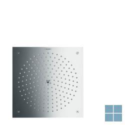 Hg raindance hoofddouche plafond 26x26cm air 1jet eco chroom | HG26481000 | LAMO