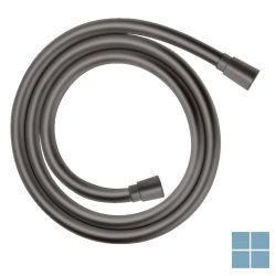 Hg isiflex doucheslang 125cm, antitorsiesysteem, knikvrij, brushed black chrome   HG28272340   LAMO