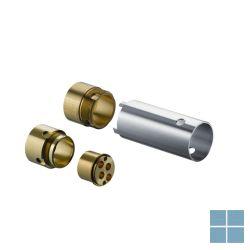 Hg verlengset 25mm voor wandmengkraan chroom | HG31971000 | LAMO