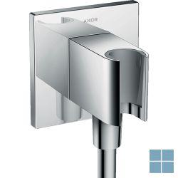 """Hg axor fixfit porter 90/90mm square, conische m., belgaqua, 1/2""""m, chroom   HG36734000   LAMO"""